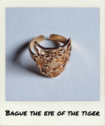 Bague The Eye of the Tiger