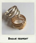 Bague Serpent