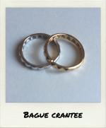 Bague Crantée