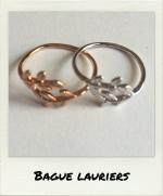 Bague Lauriers