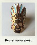 Bague Indian Skull