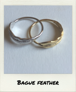 Bague Feather